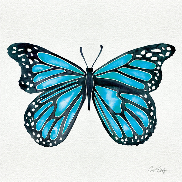 Blue Morpho Butterfly available  here .