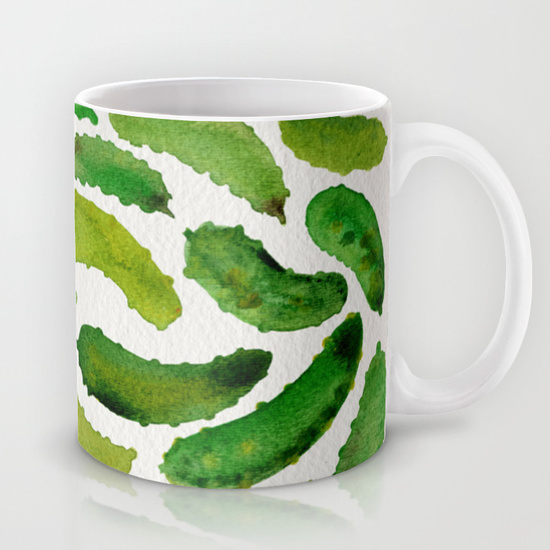 Pickles  •  11 oz mug $15