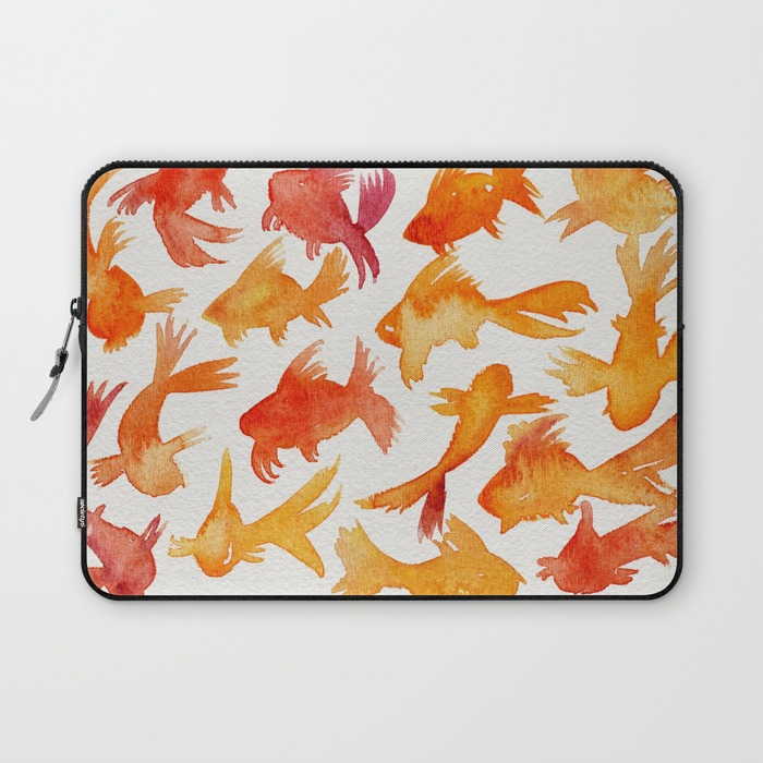 Goldfish   •  laptop sleeve $36–$39