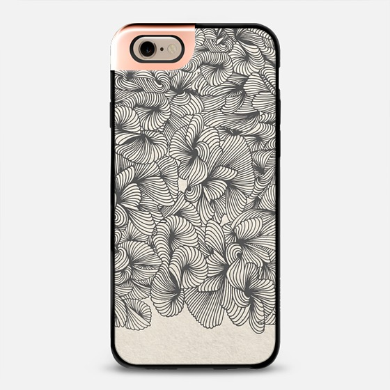 Organic Pattern – Black   •  phone case $50