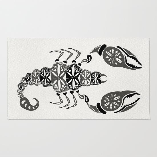 Black Scorpion  • rug $29–$79