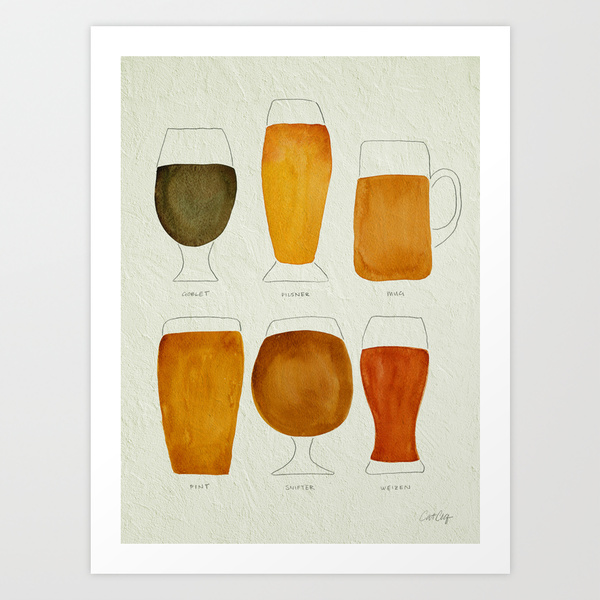 Beer Collection   •  art print $18–$65