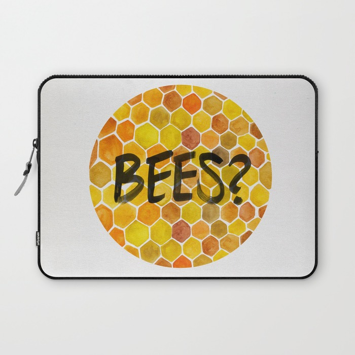 Bees?  •  laptop sleeve $36–$39