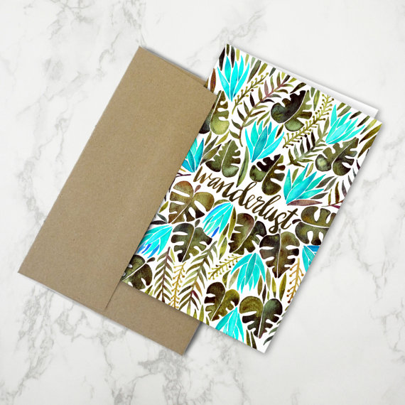 Wanderlust   •  Stationery Card $4.50
