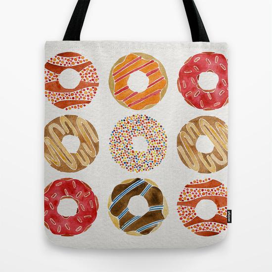 Half Dozen Donuts• tote bag $18–$24