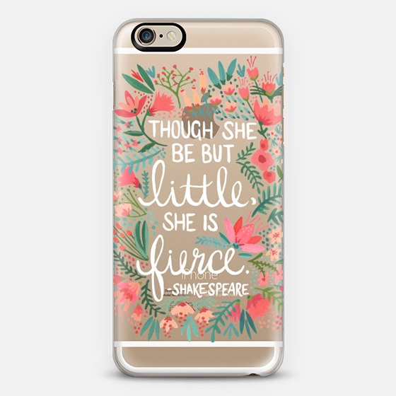 Little & Fierce  •  phone case $40