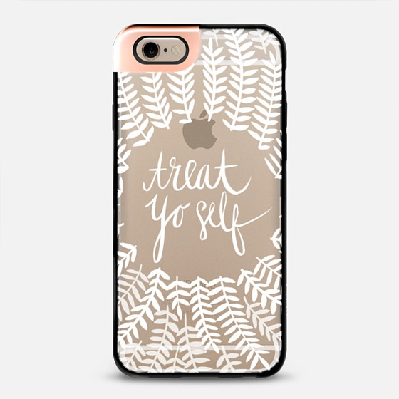 Treat Yo Self  •  metaluxe phone case $50