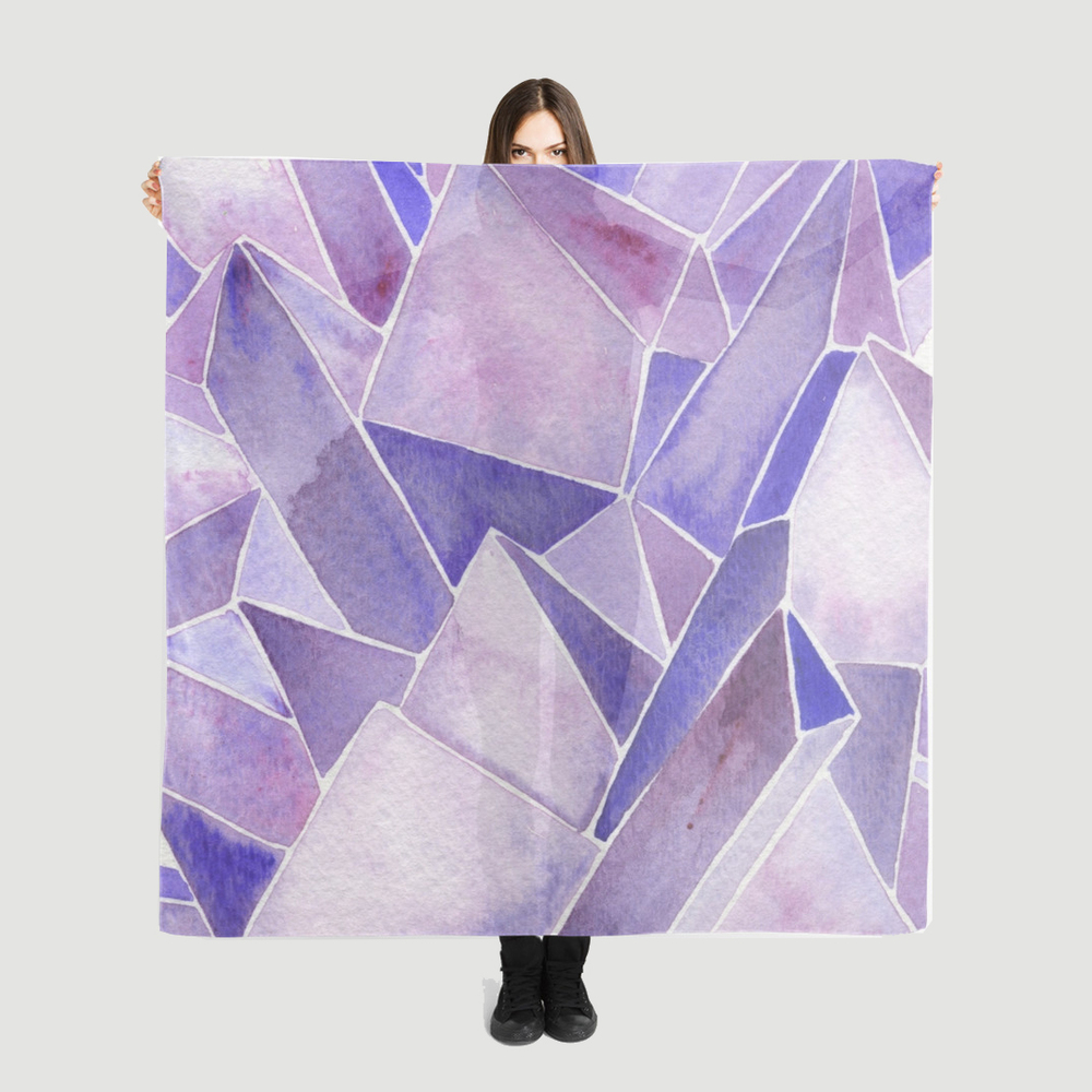Watercolor Amethyst   •  scarf $35