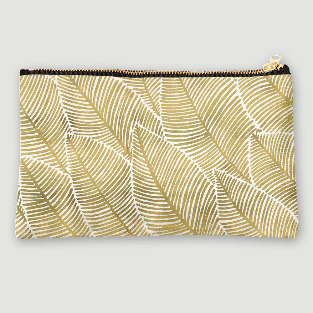 Tropical Gold  •  studio pouch $24