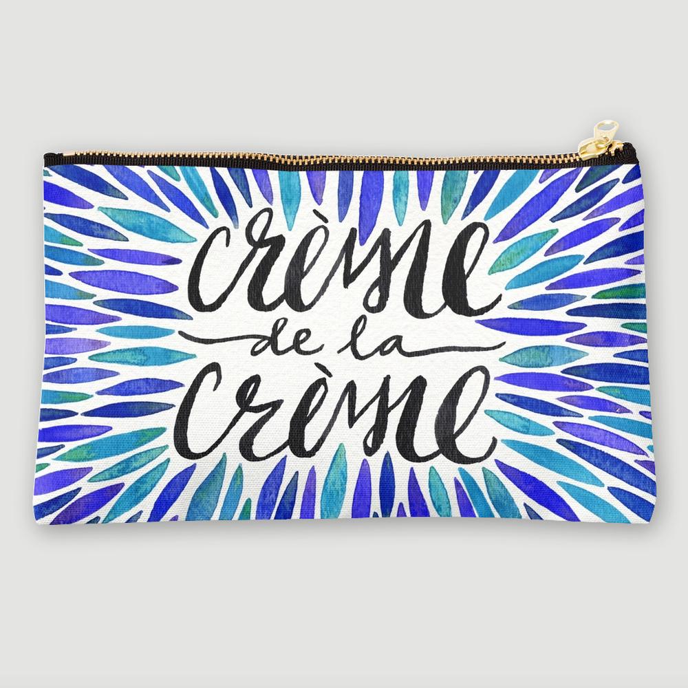 Crème de la Crème • studio pouch $24