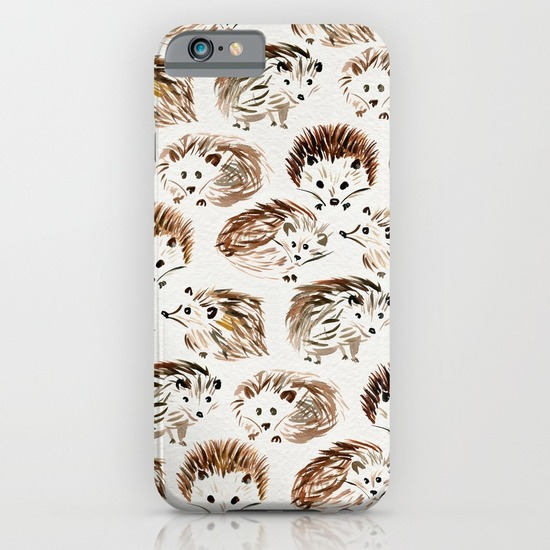 Hedgehogs  •  phone case $35