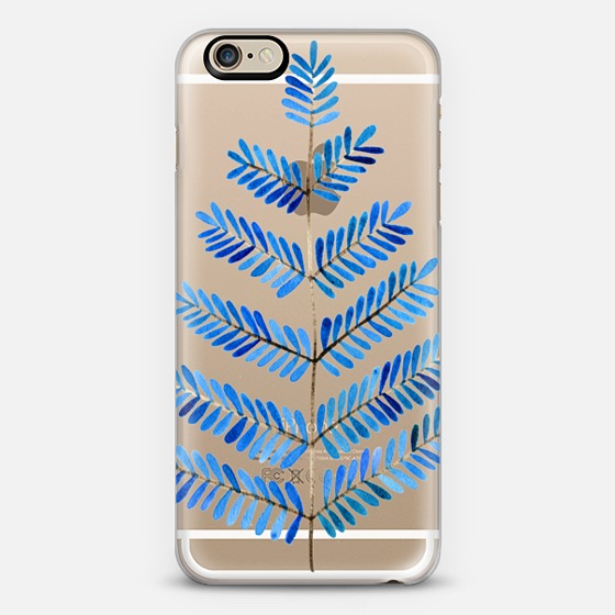 Blue Leaflets  •  phone case $40
