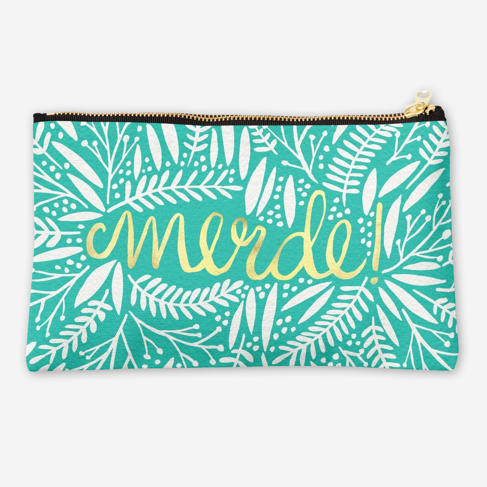 Pardon My French   • studio pouch $24–$26