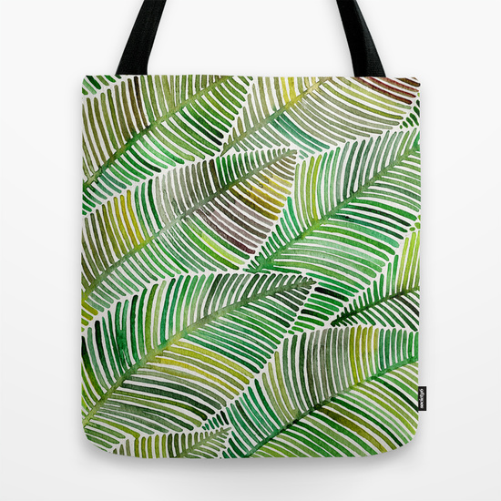 Tropical Green   •  tote bag $18–$24