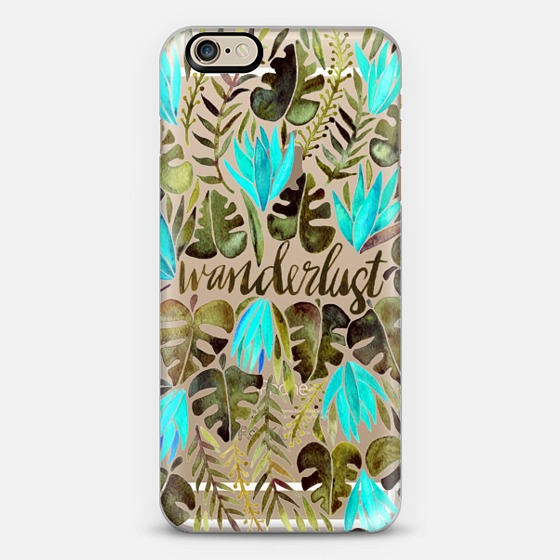 Wanderlust   •  phone case $40