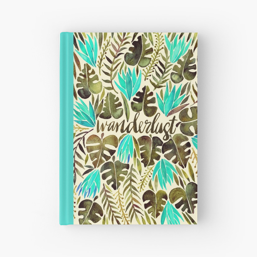 Wanderlust   •  hardcover journal $22