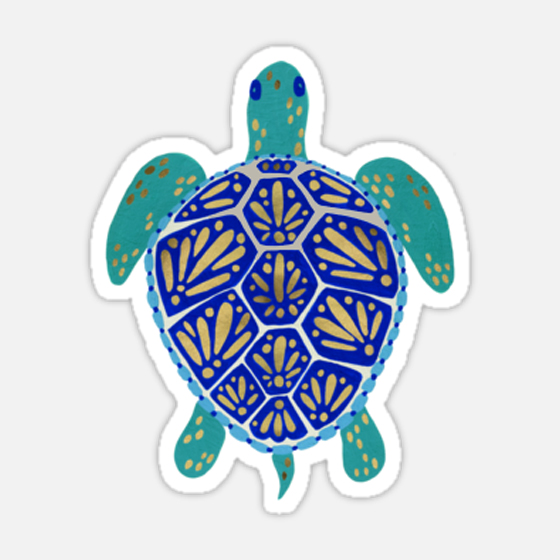 Sea Turtle   •  sticker $3