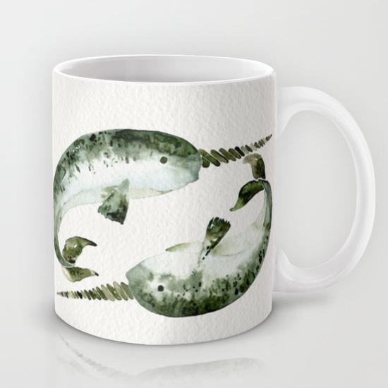 Narwhals • 11 oz mug $15
