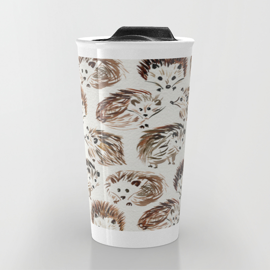 Hedgehogs   •  travel mug $24