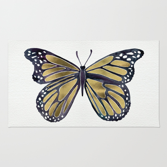 Gold Butterfly   •  rug $28–$79