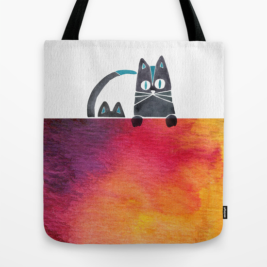 Cats  •  tote bag $18–$24