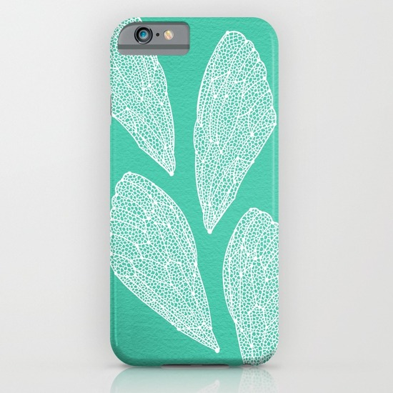 Turquoise Cicada Wings   •  phone case $35