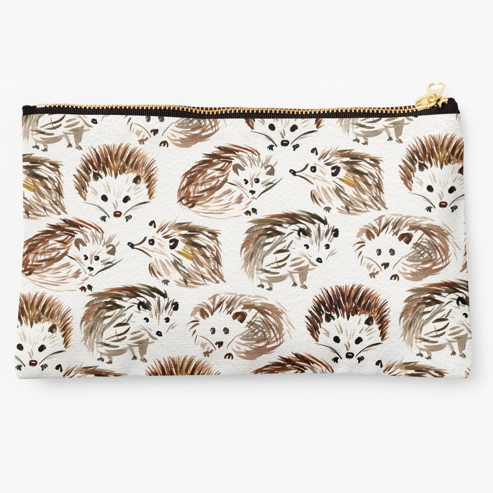Hedgehogs  •  studio pouch $24
