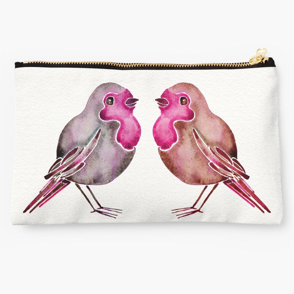 Rosie Birds • studio pouch $24