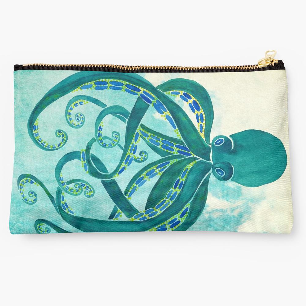 Octopus • studio pouch $24