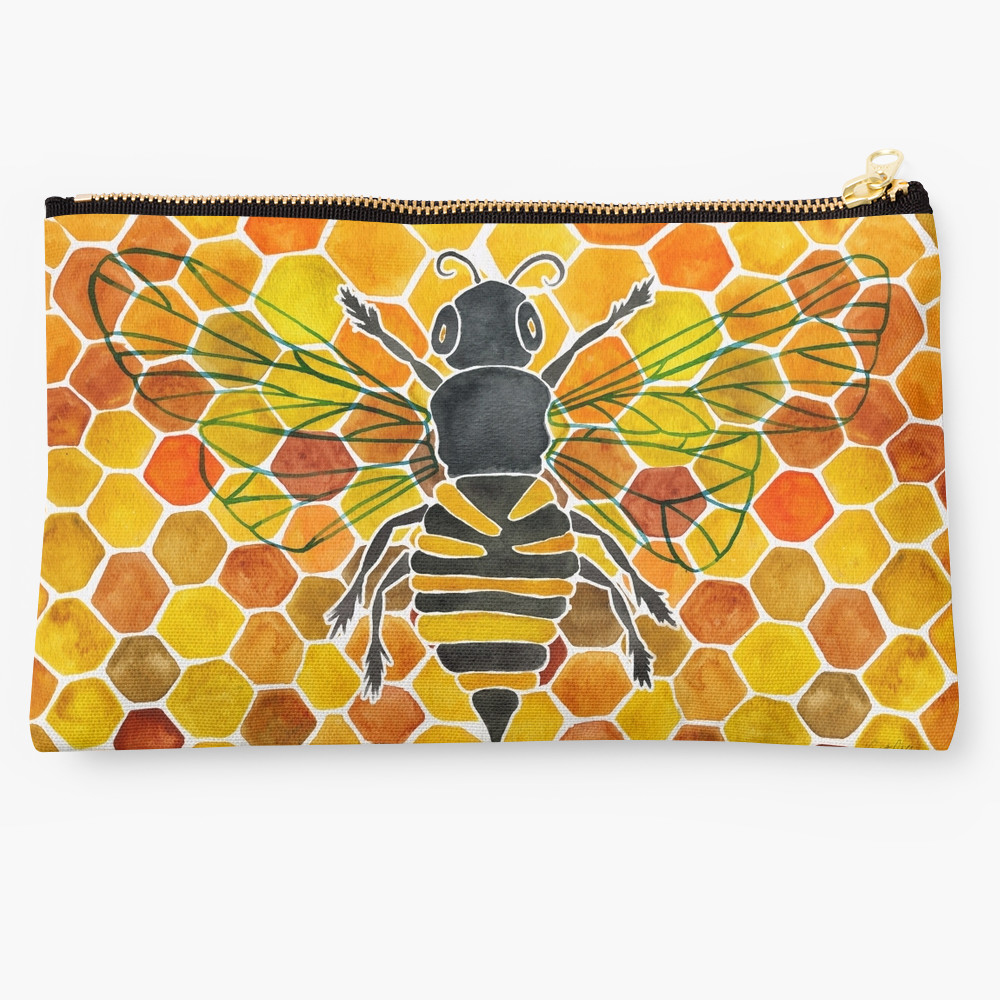 Honeybee   •  studio pouch $24