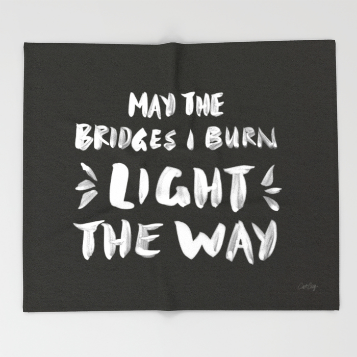 Bridges Burned  •  throw blanket $49–$129