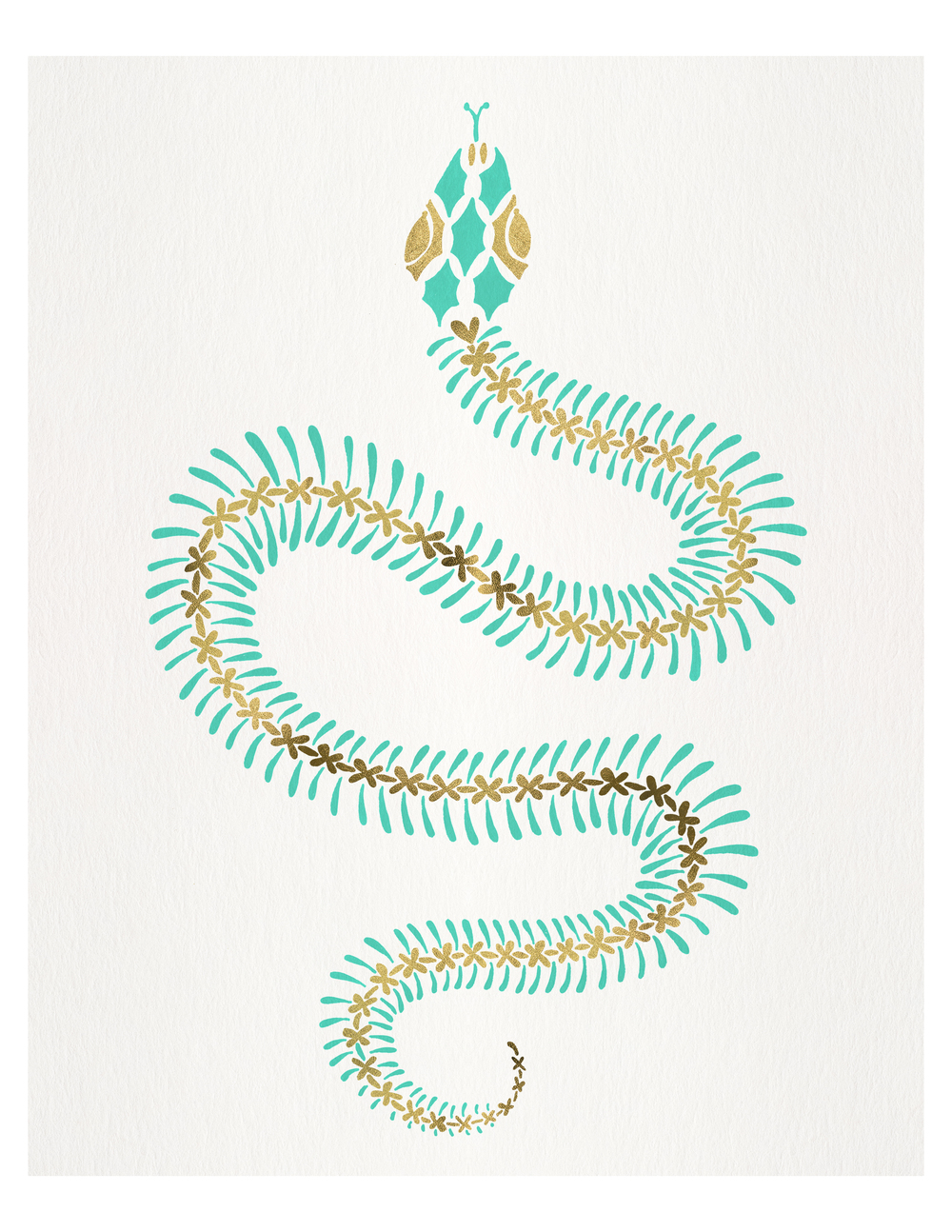 Serpent Skeleton available  here .