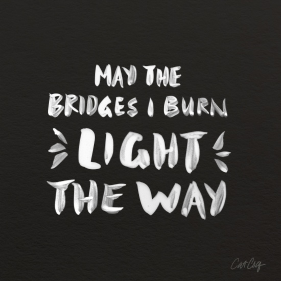 Burned Bridges available  here .