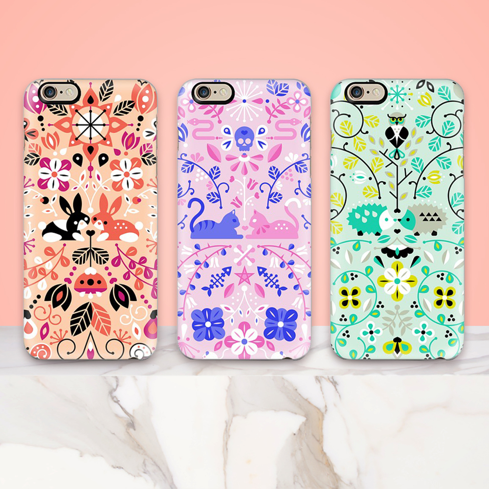 Opaque Phone Cases    ↠ ↠ ↠   Bunny Lovers  •  Kitten Lovers  •  Hedgehog Lovers