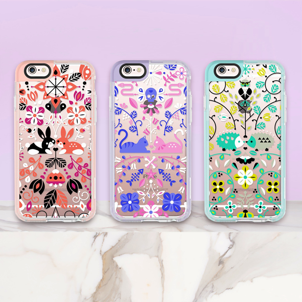 Transparent Phone Cases    ↠ ↠ ↠   Bunny Lovers  •  Kitten Lovers  •  Hedgehog Lovers