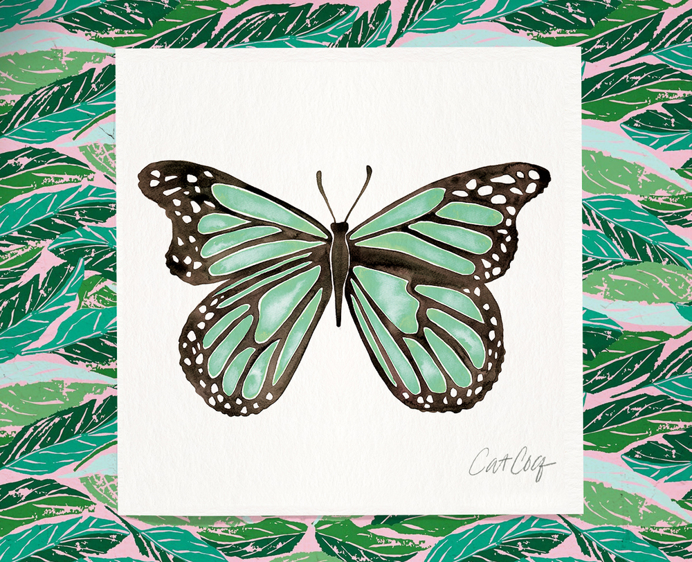 Butterfly art print available here.