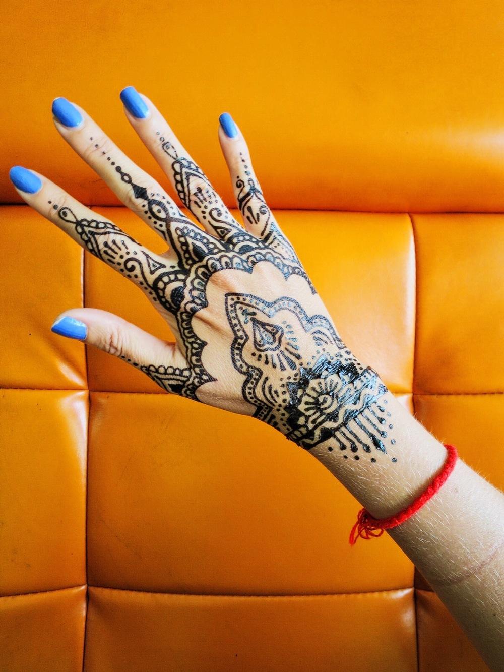 Post-henna