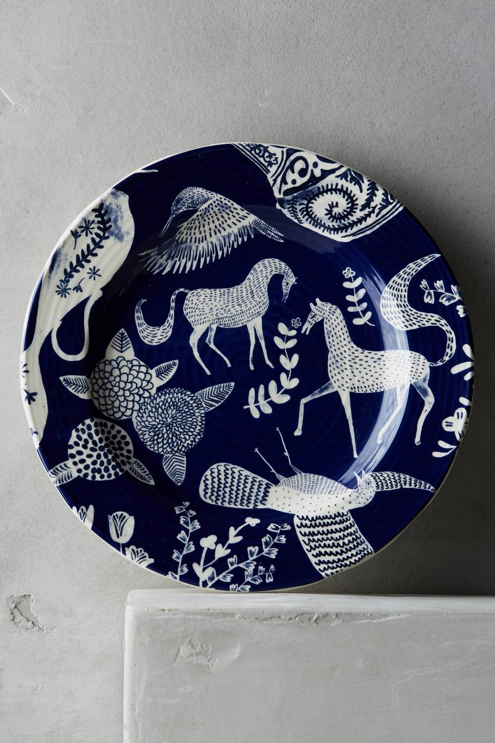 Saga Side Plate   •  Anthropologie