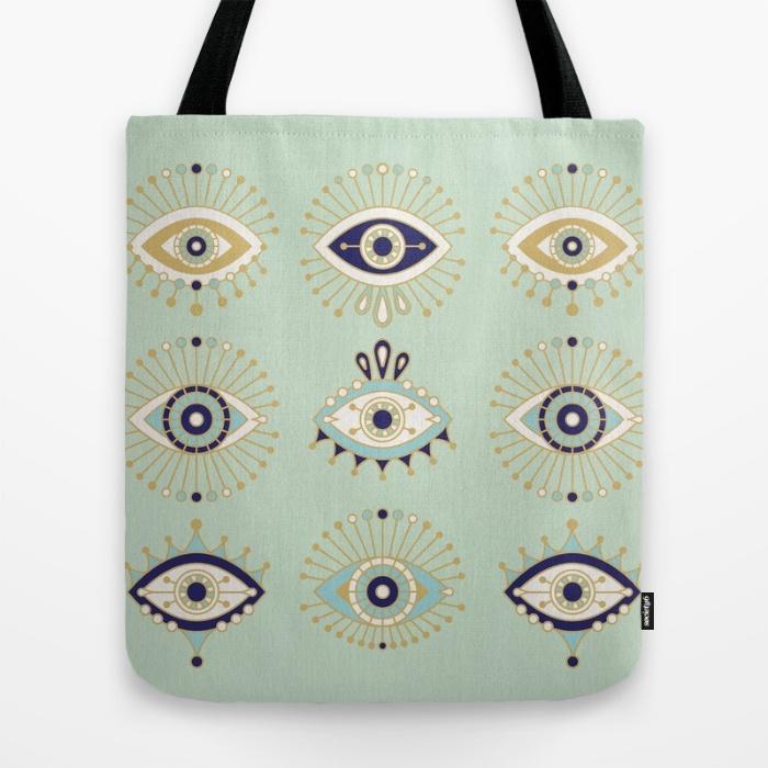 Evil-Eye Tote  • Society6
