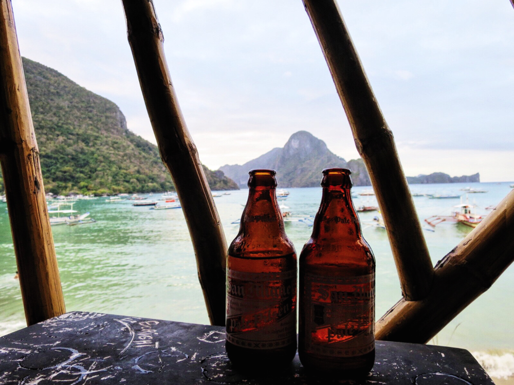 Our first taste of El Nido.