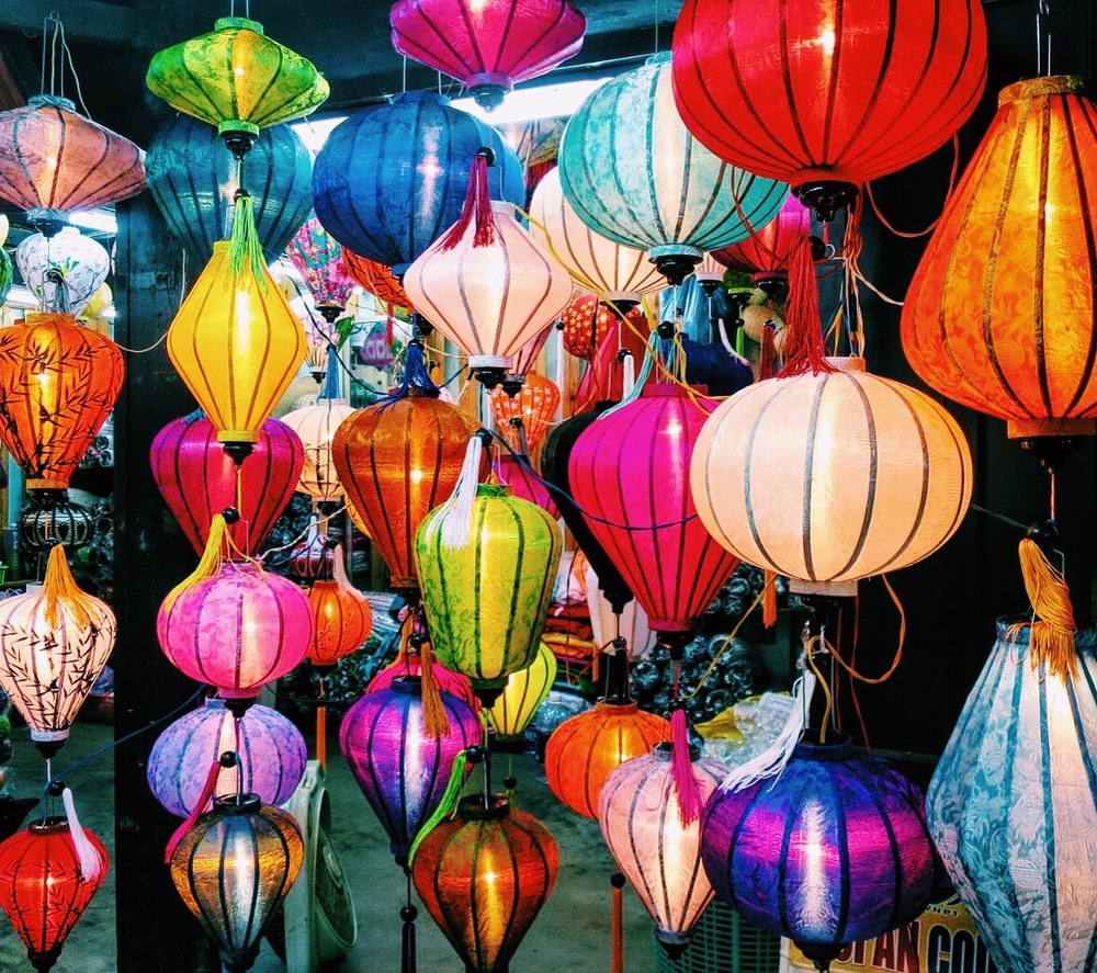 A few glasses of wine later, I purchased roughly half of the city's lantern supply. No regrets– they're beautiful.