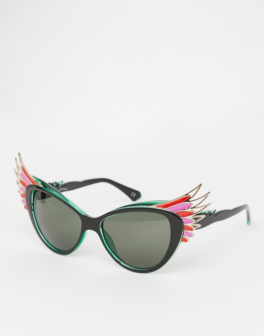 Jeepers Peepers Novelty  Bird Cat Eye Sunglasses  • ASOS