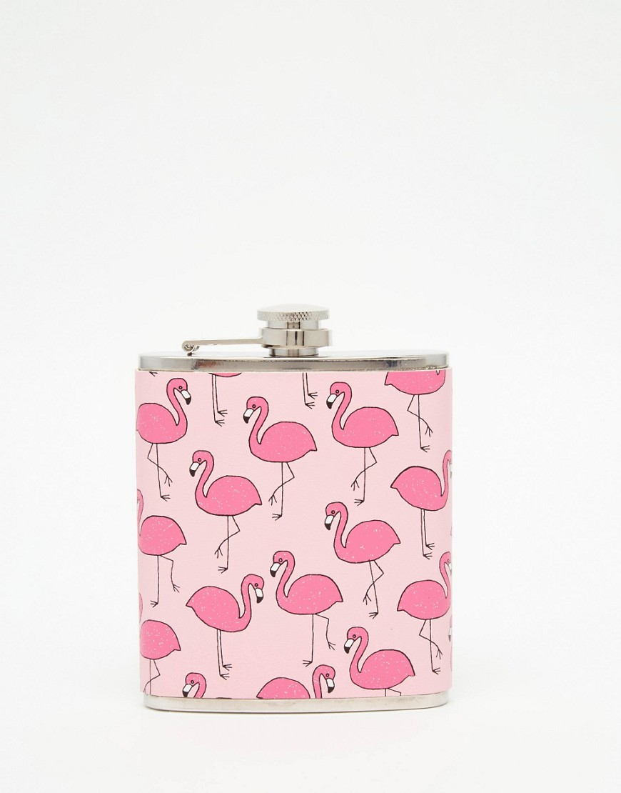 Flamingo Hip Flask   •  Skinny Dip