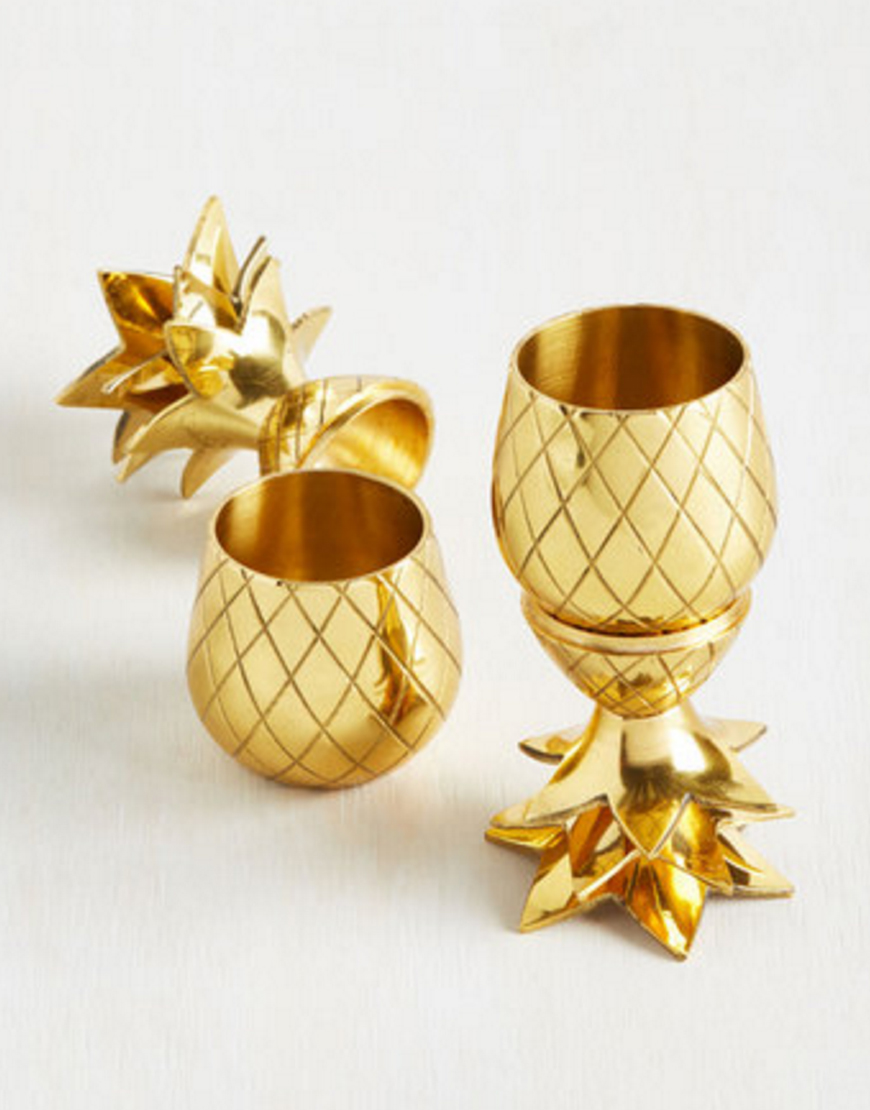 Two Shakes of a Cocktail Shot Glass Set   •  Modcloth