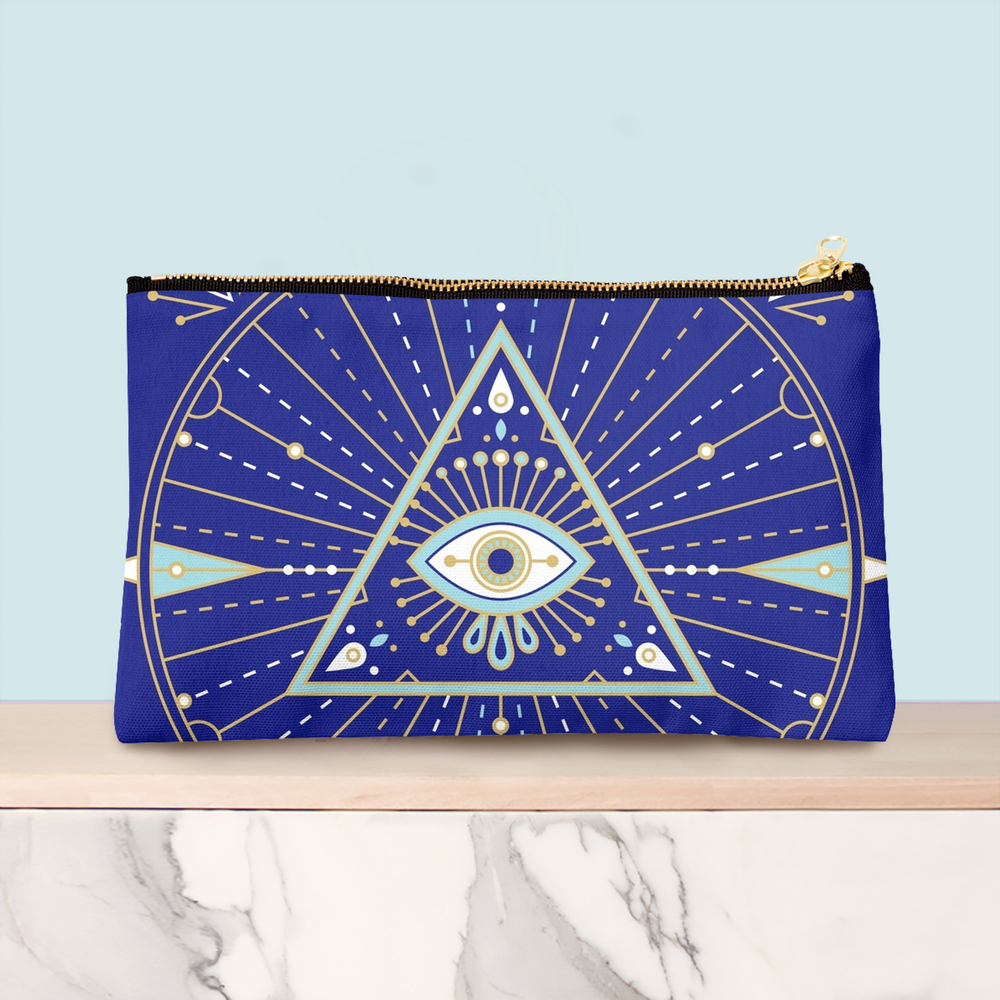 Navy pouch available  here .