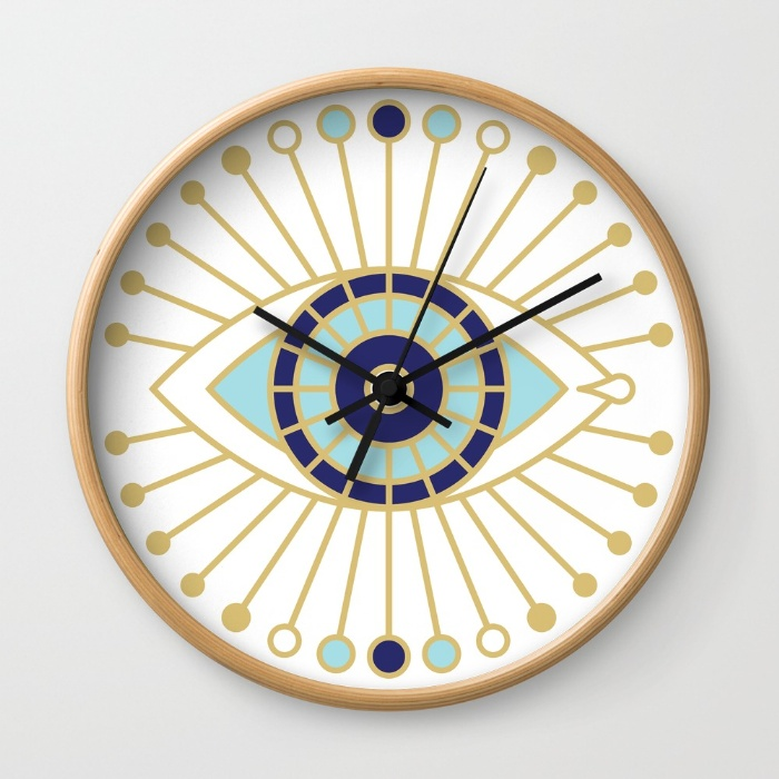 Wall clock available  here .