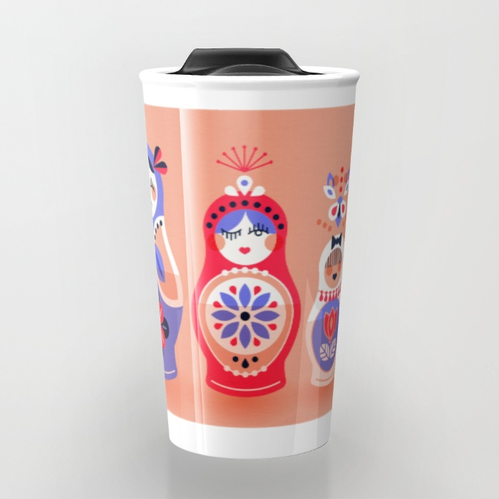 Travel Mug available  here .