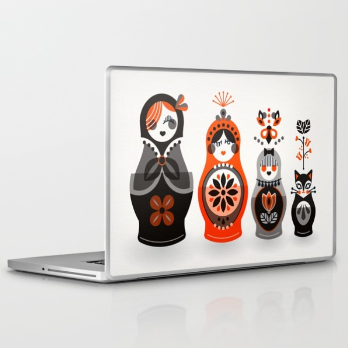 Laptop skin available  here .