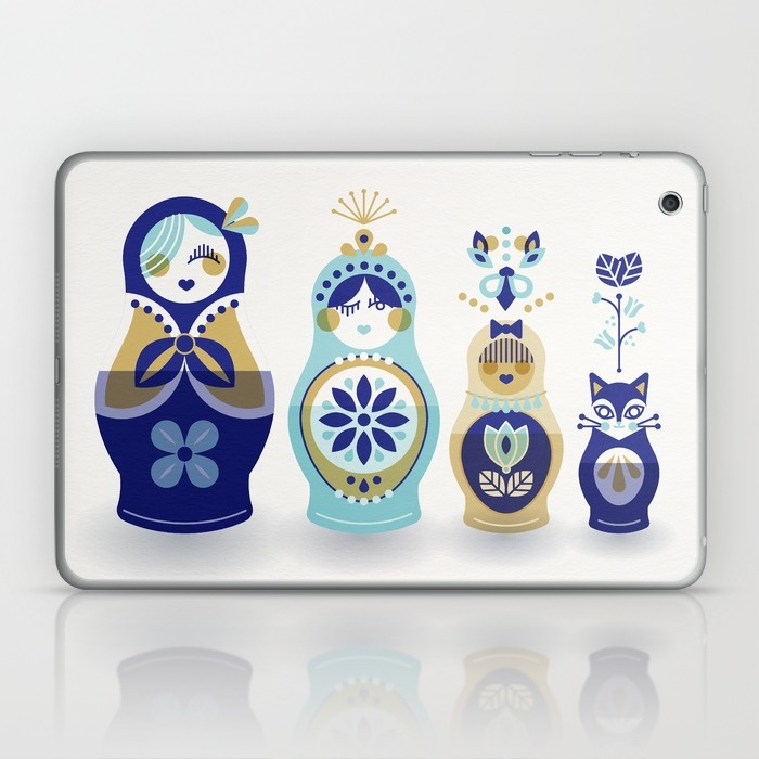 iPad or Laptop Skin available  here .