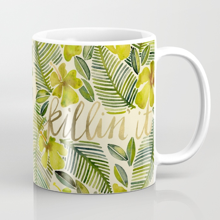 Killin' It – Tropical Yellow / Mug • 15–$18